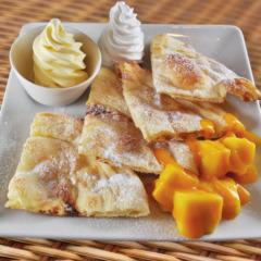 Paratha mango/パラタマンゴー ¥800