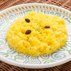 Saffron rice/サフランライス  ¥200〜