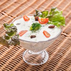 Raita Salad/ライタサラダ ¥550